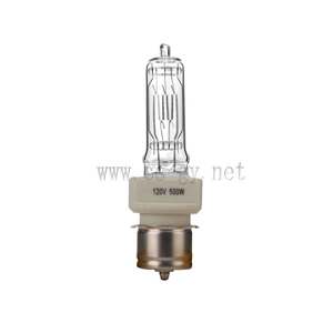 BTL 120V500W P28S stage halogen lamps compatible for 64682 120V 500W