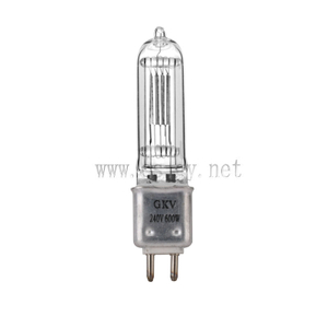 Stage Studio Light Bulb Aluminum Lamp GKV 230V 600W G9.5