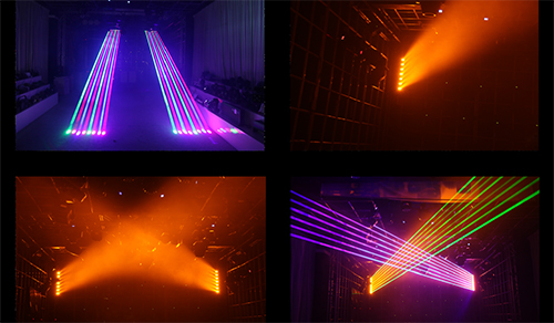 The Role and Type of Stage Laser Light