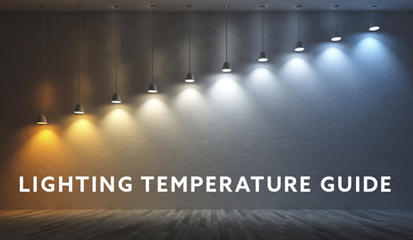 What is the color temperature of stage lighting equipment?