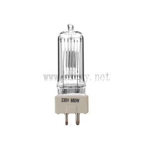 Studio and Stage Halogen Bulb 230V 650W CP89 FRL GY9.5