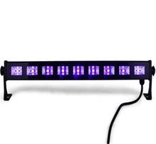 JTL UV LED Bar Black Light with 9x3W LED for Parties Halloween Club