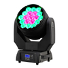 JTL High Quality 19X15W RGBW 4 in 1 LED Zoom Beam Wash Moving Head Stage Dj Light