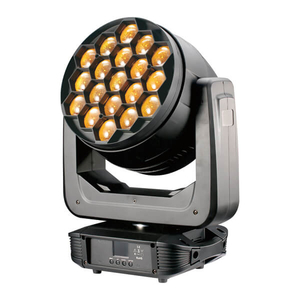 Joyfirst 19x40W 4 in 1 RGBW Dj Led Zoom Moving Head Light